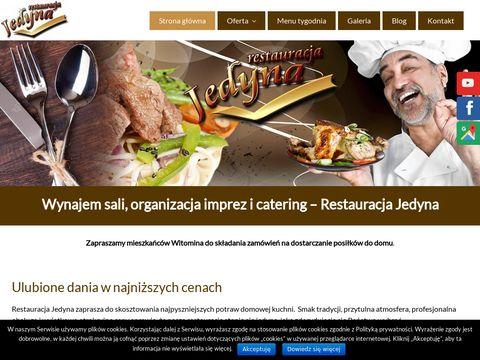 Restauracjajedyna.pl posiłki profilaktyczne Gdynia