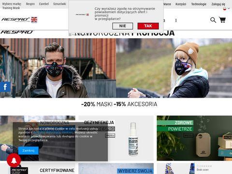 Respro.com.pl - maski antysmogowe