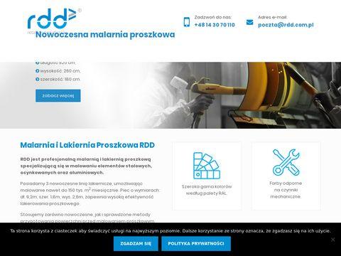 Rdd.com.pl malarnia proszkowa Kraków