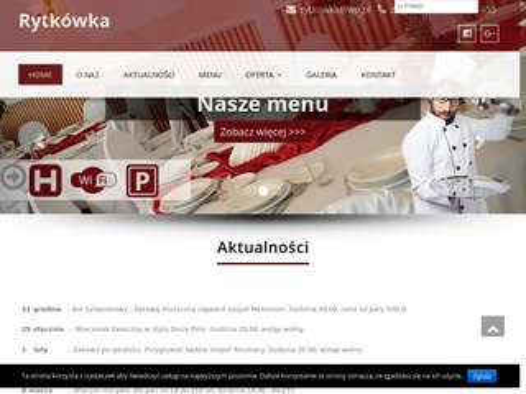 Zajazd Rytkówka Toruń wesela Toruń