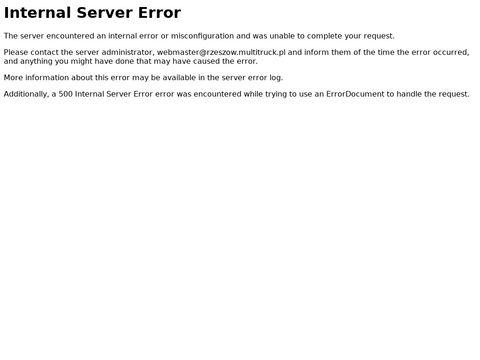 Multitruck Kia Rzeszów