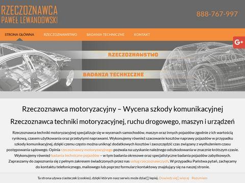Rzeczoznawca-auto.pl ekspertyzy techniczne pojazdów