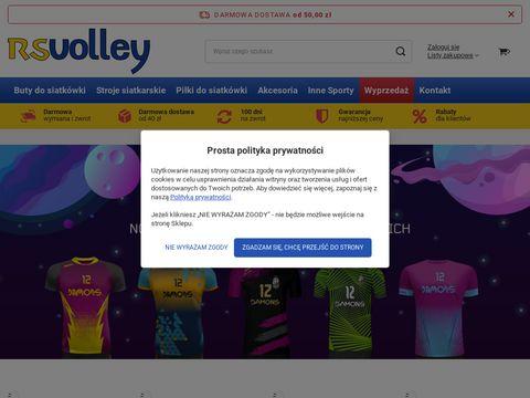 Rsvolley.pl najlepszy sprzęt siatkarski w sklepie