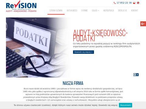 Revision-Rzeszów Sp. z o.o. usługi księgowe