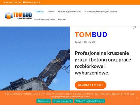 Ruszynski.pl - kruszenie gruzu