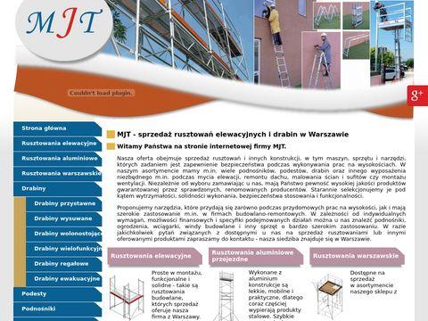MJT Rusztowania aluminiowe