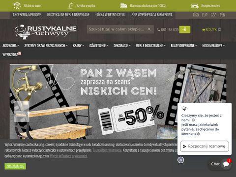 Rustykalneuchwyty.pl - okucia i uchwyty meblowe