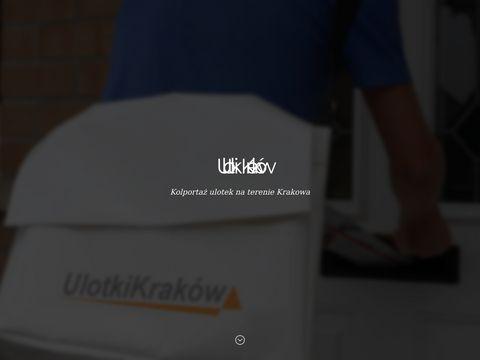 Ulotkikrakow.com roznoszenie i kolportaż