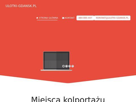 Ulotki-gdansk.pl roznoszenie i kolportaż