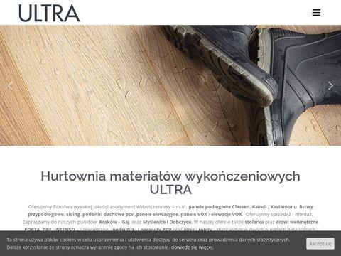 Ultra.malopolska.pl parapety PCV i stal Kraków
