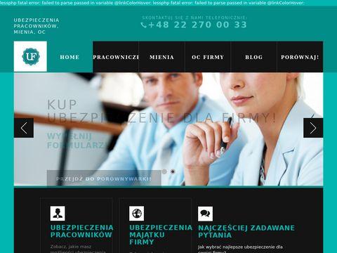 Ubezpieczeniadlafirm.com.pl