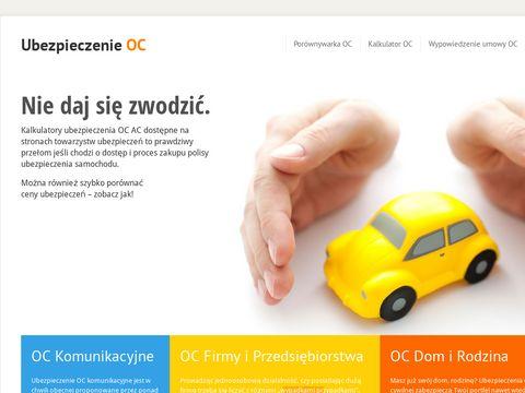 Ubezpieczenia-oc-auta.pl - Ubezpieczenie OC