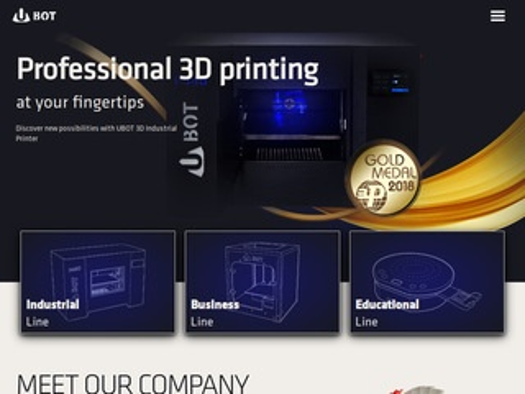 Ubot3d.pl drukarki na zamówienie