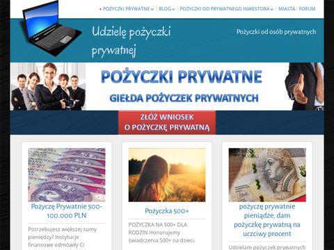 Udziele-pozyczki-prywatnie.pl