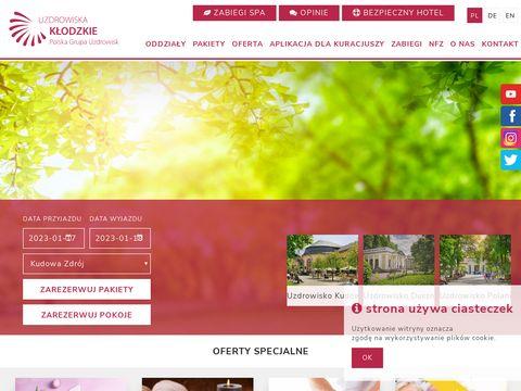 Uzdrowiska-klodzkie.pl dom wczasów