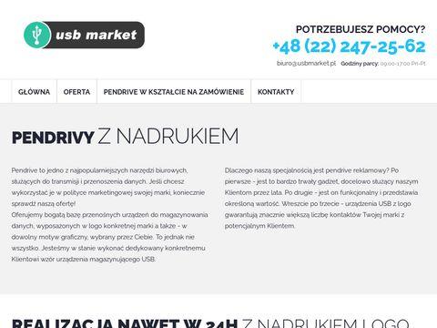 Usbmarket.pl producent pendrivów reklamowych
