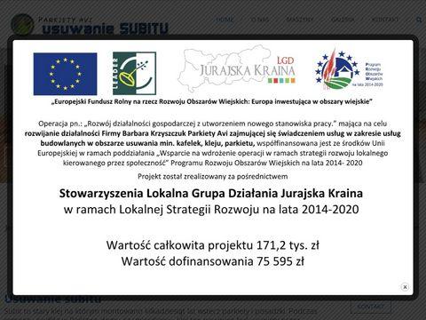 Usuwanie-subitu.pl zrywanie parkietu