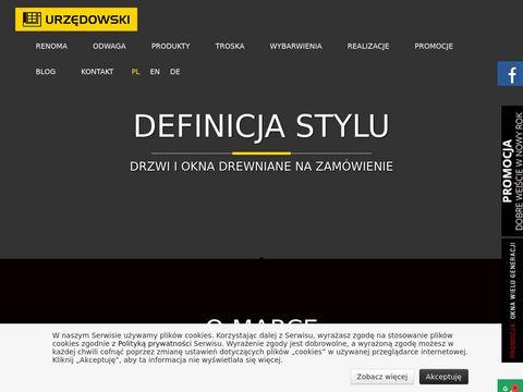 Urzedowski.pl BMK producent stolarki drewnianej