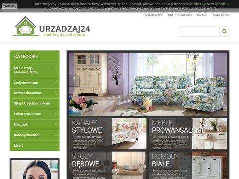 Urzadzaj24.pl - meble bielone