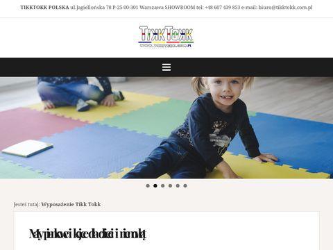 Tikktokk.com.pl - wyposażenie przedszkoli
