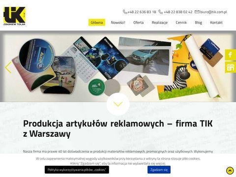 Tik.com.pl deski z klipem