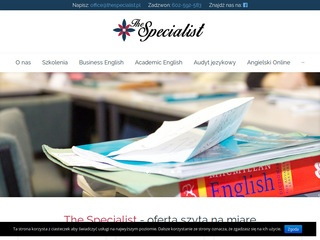 The Specialist - legal english
