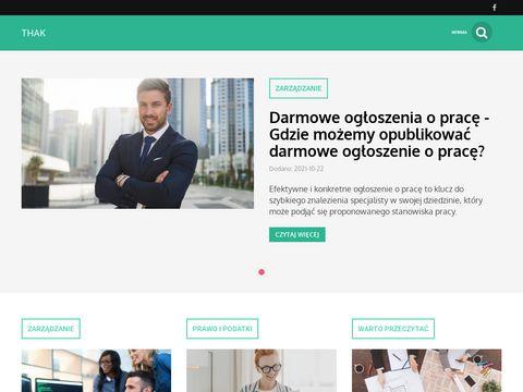 Thak.pl - blog