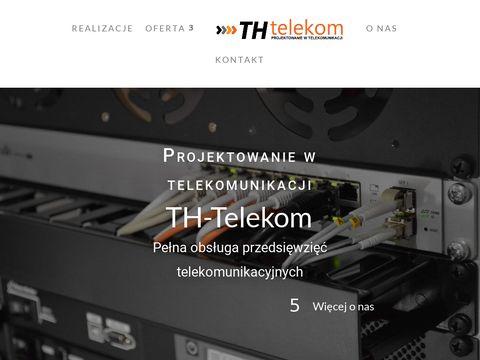Th-telekom.pl projektowanie w telekomunikacji
