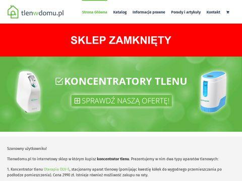 Tlenwdomu.pl - koncentratory tlenu sklep online