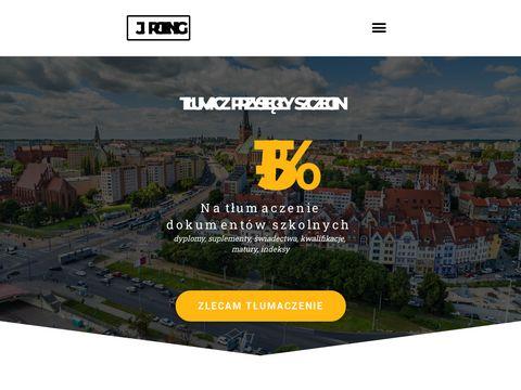 Jacek Roenig tłumacz przysięgły Szczecin
