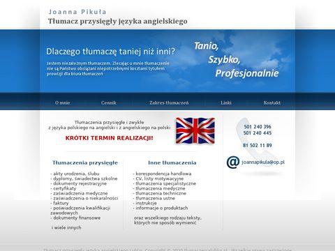 Tłumaczenia przysięgłe Lublin