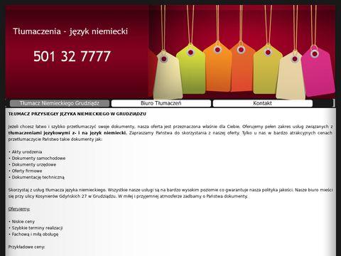 Tlumaczniemieckiegogrudziadz.eu