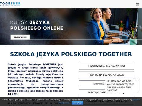 Together-school.pl - kursy angielskiego