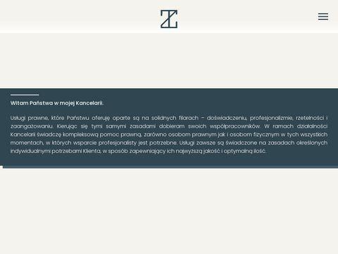 Tomasz Żółty prawnik Kraków