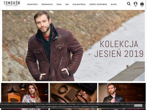 Tomskor.pl kurtka skórzana