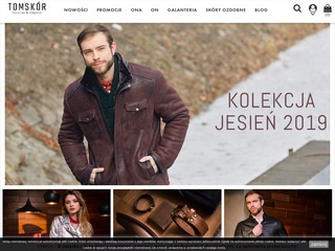 Tomskor.opole.pl - kurtka skórzana