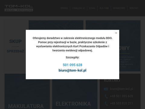Tom-kol - utylizacja elektroniki
