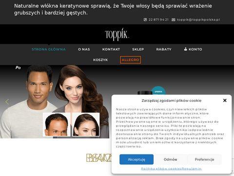 Toppikpolska.pl zagęszczanie włosów