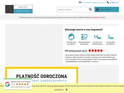 Tablice-magnetyczne.com kredowe
