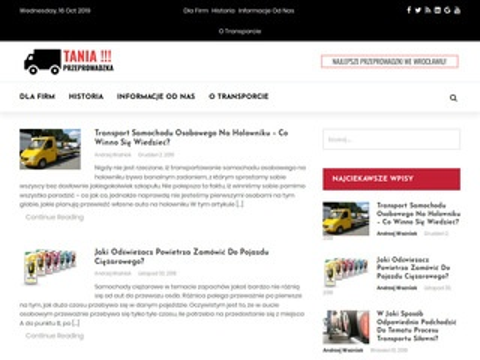 Tania-przeprowadzka.wroclaw.pl - taxi bagażowe