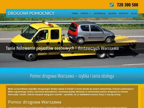 Drogowi Pomocnicy - pomoc drogowa w Warszawie