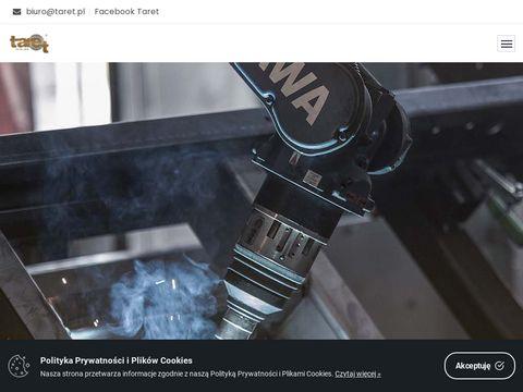 Taret.pl wycinanie laserowe