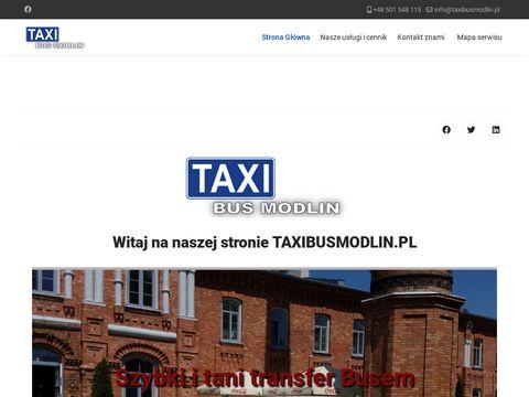 Taxibusmodlin.pl Nowy Dwór Mazowiecki
