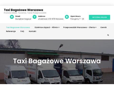 Taxi-bagaz.com.pl - przeprowadzki w Warszawie