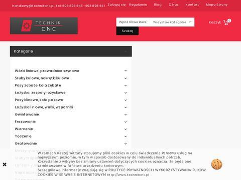 Technikcnc.pl wózki szyny Hiwin Rexroth INA