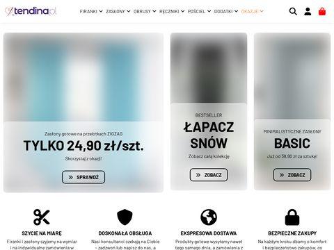 Tendina.pl firanki dla dzieci