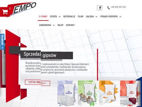 Tempo-spj.pl - gips ceramiczny