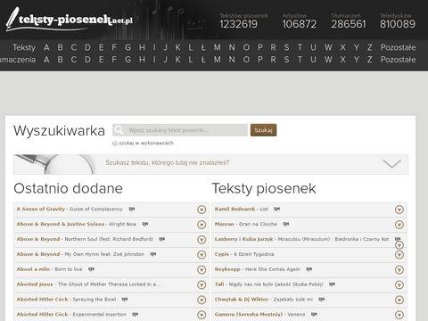 Teksty-piosenek.net.pl