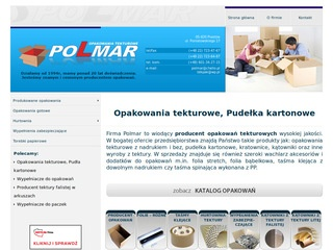 Polmar - Opakowania tekturowe - Producent opakowań