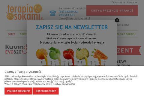 Terapiasokami.pl - innowacyjne wyciskarki